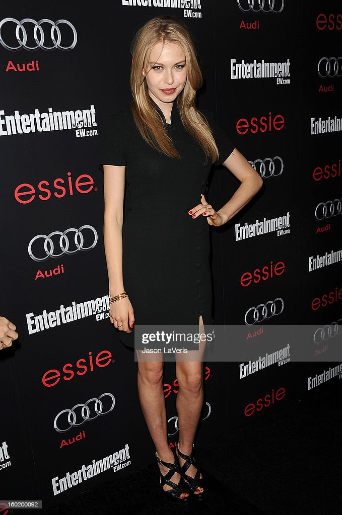 Actress Penelope Mitchell attends the Entertainment Weekly Screen Actors Guild Awards pre-party at Chateau Marmont on January 26, 2013 in Los Angeles, California.
