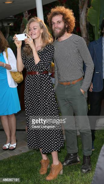 Actress Penelope Mitchell attends the media launch for the new Australian Theatre Company and it's first production 'Holding the Man' at the Official...