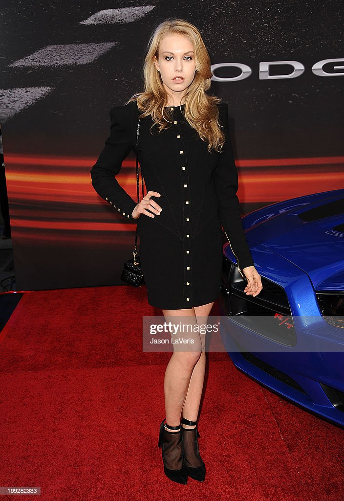 Actress Penelope Mitchell attends the premiere of 'Fast & Furious 6' at Universal CityWalk on May 21, 2013 in Universal City, California.
