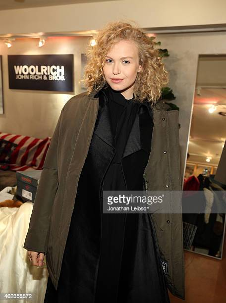 Actress Penelope Mitchell attends The Variety Studio At Sundance Presented By Dockers Day 4 on January 27 2015 in Park City Utah