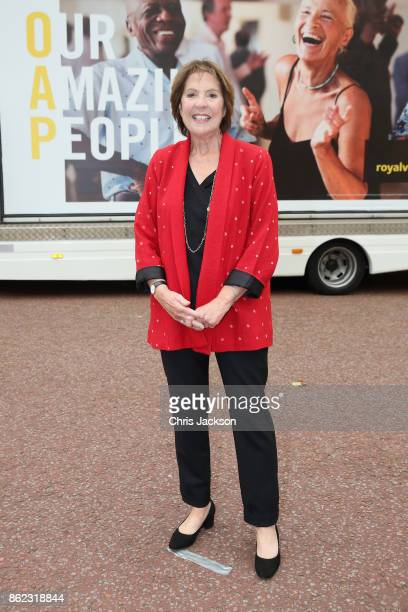 Actress Penelope Wilton attends a reception hosted by The Duchess of Cornwall to celebrate the launch of the 'Our Amazing People' campaign at...