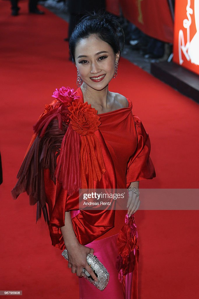 Actress Peng Lin attends the 'Da Bing Xiao Jiang' - Premiere during day seven of the 60th Berlin International Film Festival at the Friedrichstadtpalast on February 17, 2010 in Berlin, Germany.