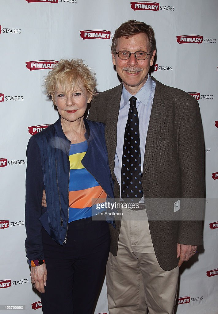 Actress <a gi-track='captionPersonalityLinkClicked' href=/galleries/search?phrase=Penny+Fuller&family=editorial&specificpeople=1982925 ng-click='$event.stopPropagation()'>Penny Fuller</a> and Barry Kleinbort attend the 'Poor Behavior' Opening Night after party at Casa Nonna on August 17, 2014 in New York City.