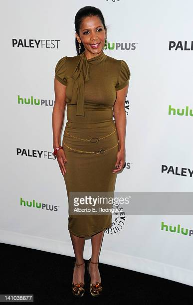 Actress Penny Johnson Jerald arrives to The Paley Center for Media's PaleyFest 2012 honoring 'Castle' at Saban Theatre on March 9 2012 in Beverly...