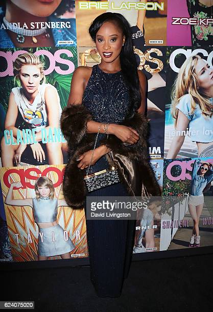 Actress Pepi Sonuga attends the launch of ASOS Magazine US Edition at The Sayers Club on November 17 2016 in Hollywood California