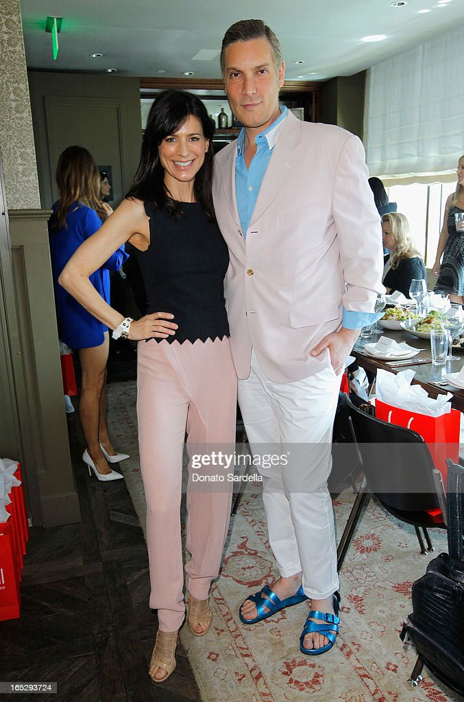 Actress <a gi-track='captionPersonalityLinkClicked' href=/galleries/search?phrase=Perrey+Reeves&family=editorial&specificpeople=537738 ng-click='$event.stopPropagation()'>Perrey Reeves</a> (L) and TV personality and Co-Owner of Decades <a gi-track='captionPersonalityLinkClicked' href=/galleries/search?phrase=Cameron+Silver&family=editorial&specificpeople=546426 ng-click='$event.stopPropagation()'>Cameron Silver</a> attend the Rodial 10th Anniversary Luncheon on April 2, 2013 in West Hollywood, California.
