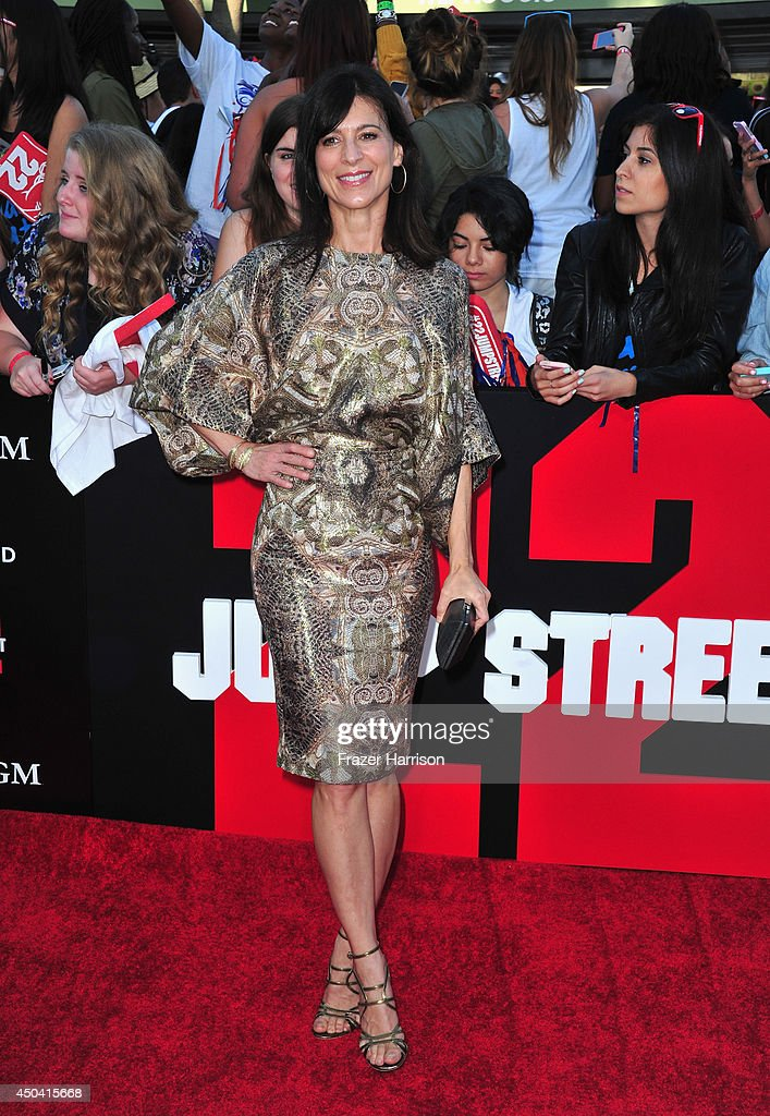 Actress Perrey Reeves arrives at the Premiere Of Columbia Pictures' '22 Jump Street' at Regency Village Theatre on June 10, 2014 in Westwood, California.