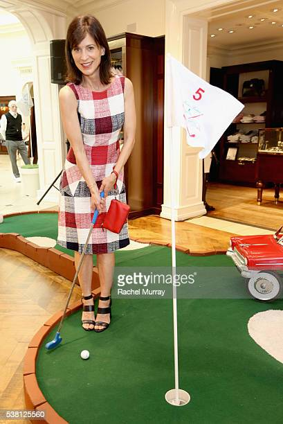 Actress Perrey Reeves attends Brooks Brothers Mini Classic to Benefit St Jude Children's Research Hospital at Brooks Brothers Beverly Hills on June 4...
