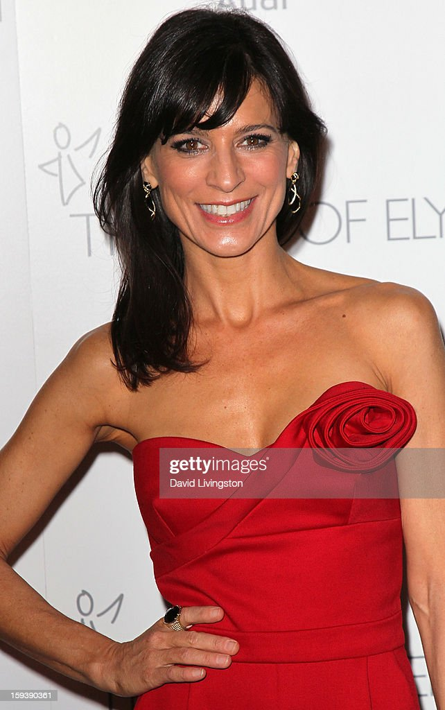 Actress Perrey Reeves attends the Art of Elysium's 6th Annual Black-tie Gala 'Heaven' at 2nd Street Tunnel on January 12, 2013 in Los Angeles, California.