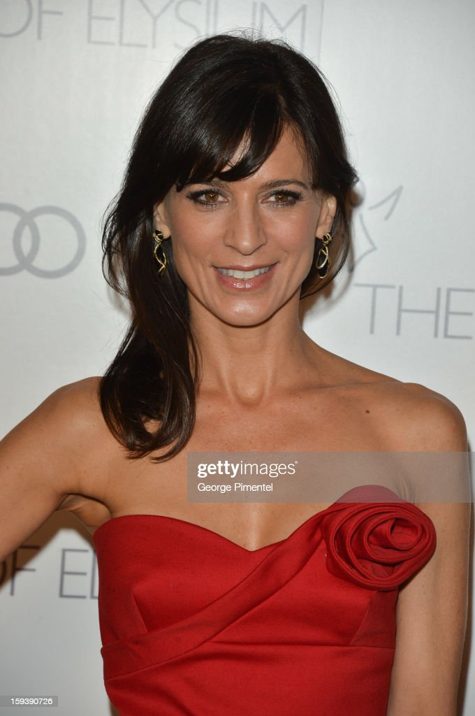 Actress Perrey Reeves attends The Art of Elysium's 6th Annual HEAVEN Gala presented by Audi at 2nd Street Tunnel on January 12, 2013 in Los Angeles, California.