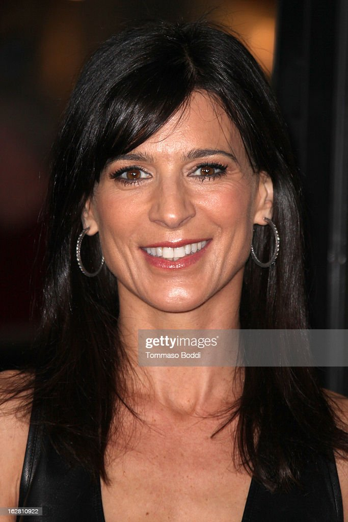 Actress Perrey Reeves attends the 'Phantom' Los Angeles premiere held at the TCL Chinese Theatre on February 27, 2013 in Hollywood, California.