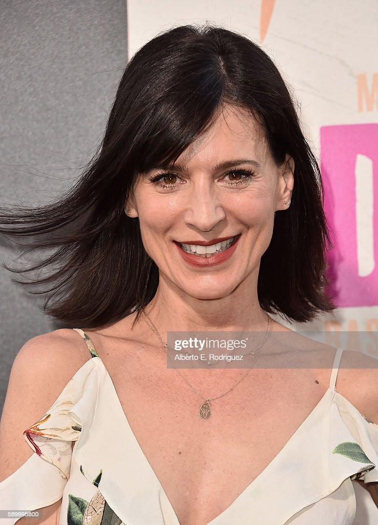 Actress Perrey Reeves attends the premiere of Warner Bros Pictures' 'War Dogs' at TCL Chinese Theatre on August 15 2016 in Hollywood California