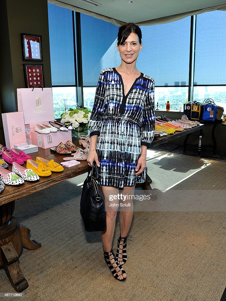 Actress Perry Reeves attends the Tracy Paul Company's a multi brand press preview with with LA's blogger elite on March 26 2015 in West Hollywood...
