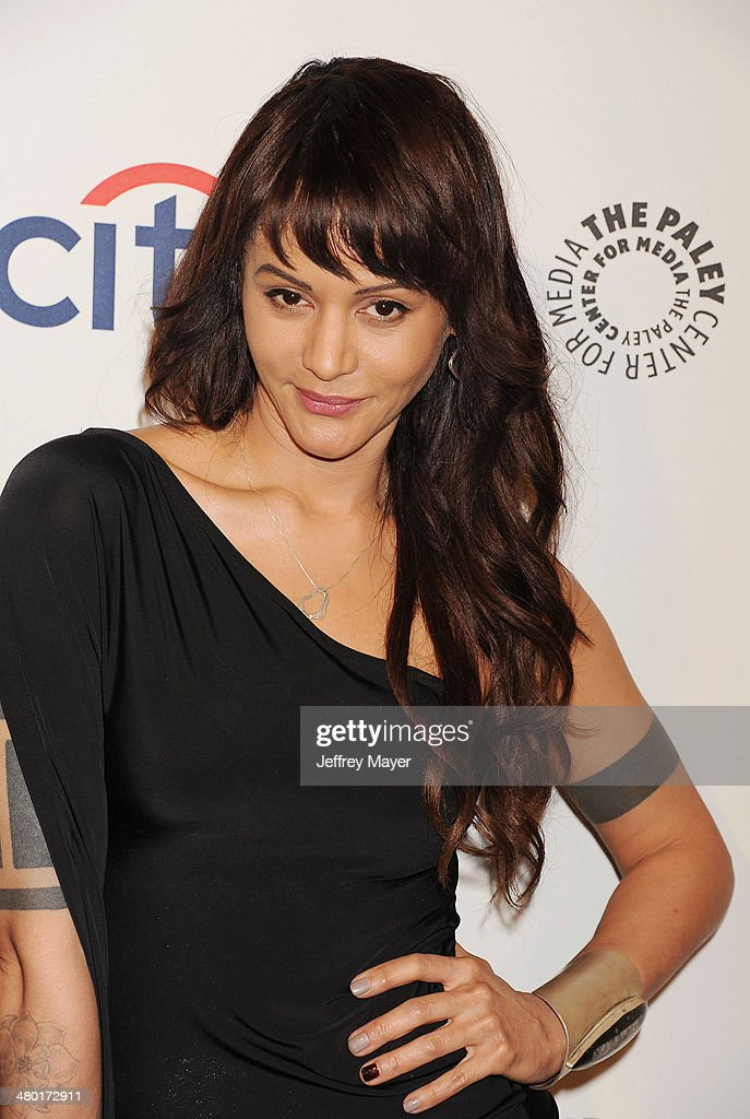 Actress <a gi-track='captionPersonalityLinkClicked' href=/galleries/search?phrase=Persia+White&family=editorial&specificpeople=210683 ng-click='$event.stopPropagation()'>Persia White</a> attends the 2014 PaleyFest - 'The Vampire Diaries' & 'The Originals' held at Dolby Theatre on March 21, 2014 in Hollywood, California.