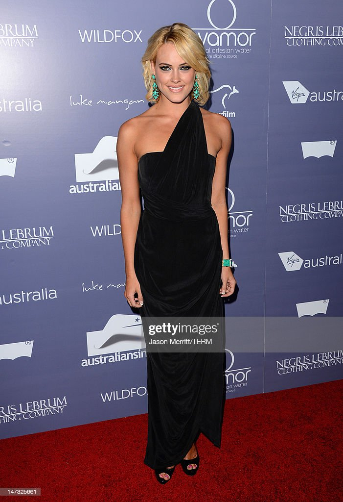 Actress Peta Murgatroyd arrives at Australians In Film Awards & Benefit Dinner at InterContinental Hotel on June 27, 2012 in Century City, California.