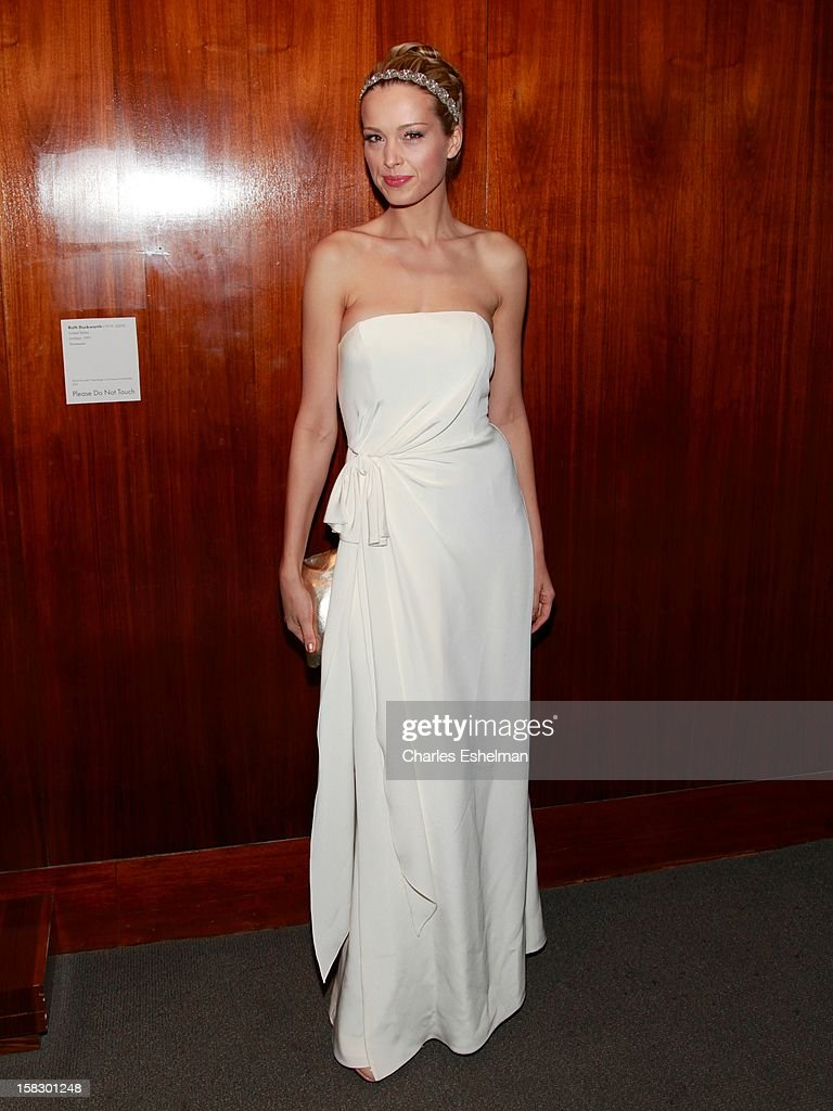 Actress Petra Nemcova attends 'The Impossible' screening at the Museum of Art and Design on December 12, 2012 in New York City.