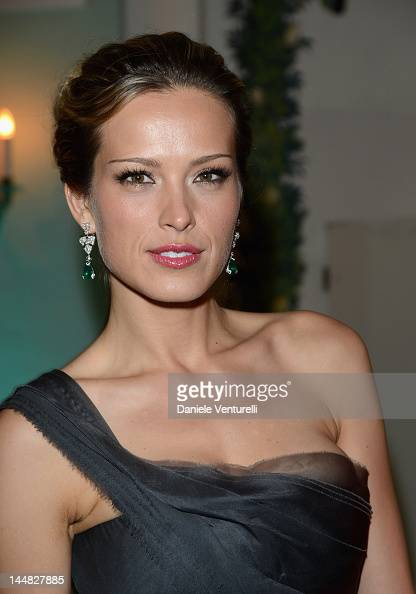 Actress Petra Nemcova attends the Vanity Fair and Gucci Party at Hotel Du Cap during 65th Annual Cannes Film Festival on May 19 2012 in Antibes France