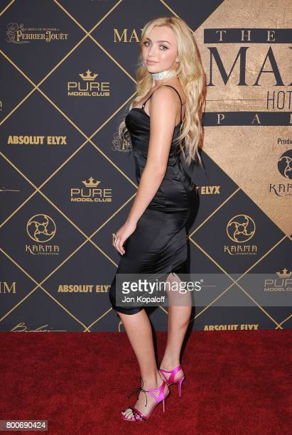 Actress Peyton List arrives at The 2017 MAXIM Hot 100 Party at Hollywood Palladium on June 24 2017 in Los Angeles California