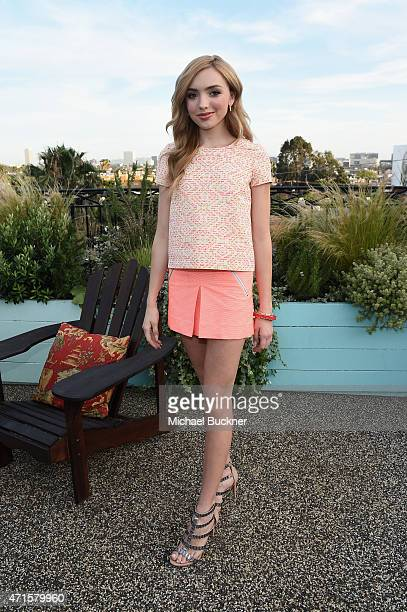 Actress Peyton List attends Bonpoint and Peyton List celebrate the YAM Spring Summer 2015 Collection at Palihouse Holloway on April 29 2015 in West...