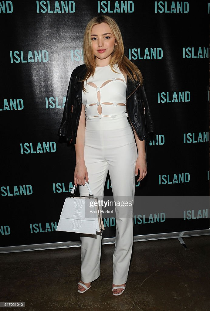 Actress Peyton List attends Island Records' 'Island Life' Second Anniversary Party At Avenue NYC at Avenue on March 22, 2016 in New York City.