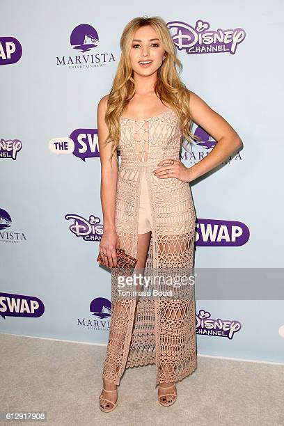 Actress Peyton List attends premiere of Disney Channel's 'The Swap' at ArcLight Hollywood on October 5 2016 in Hollywood California