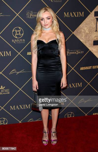 Actress Peyton List attends The 2017 MAXIM Hot 100 Party produced by Karma International at The Hollywood Palladium in celebration of MAXIMÕs Hot 100...