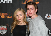 Actress Peyton List attends the 7th Annual LA Haunted Hayride at Griffith Park Zoo on October 4 2015 in Los Angeles California