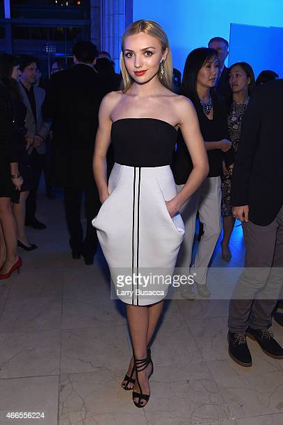 Actress Peyton List attends 'The Divergent Series Insurgent' New York premiere after party at Guastavino's on March 16 2015 in New York City