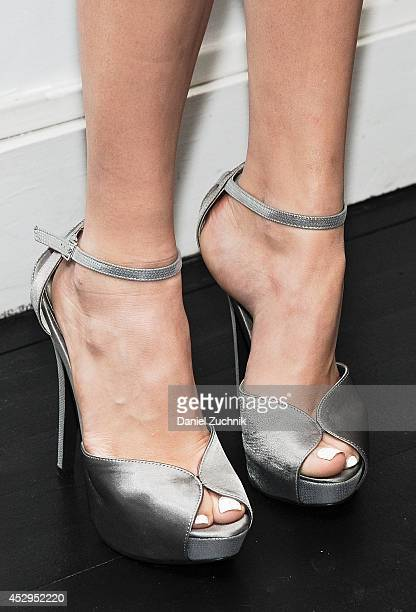 Actress Peyton List attends the ICB Fall 2014 Fashion Campaign Celebration at 355 West Broadway on July 30 2014 in New York City
