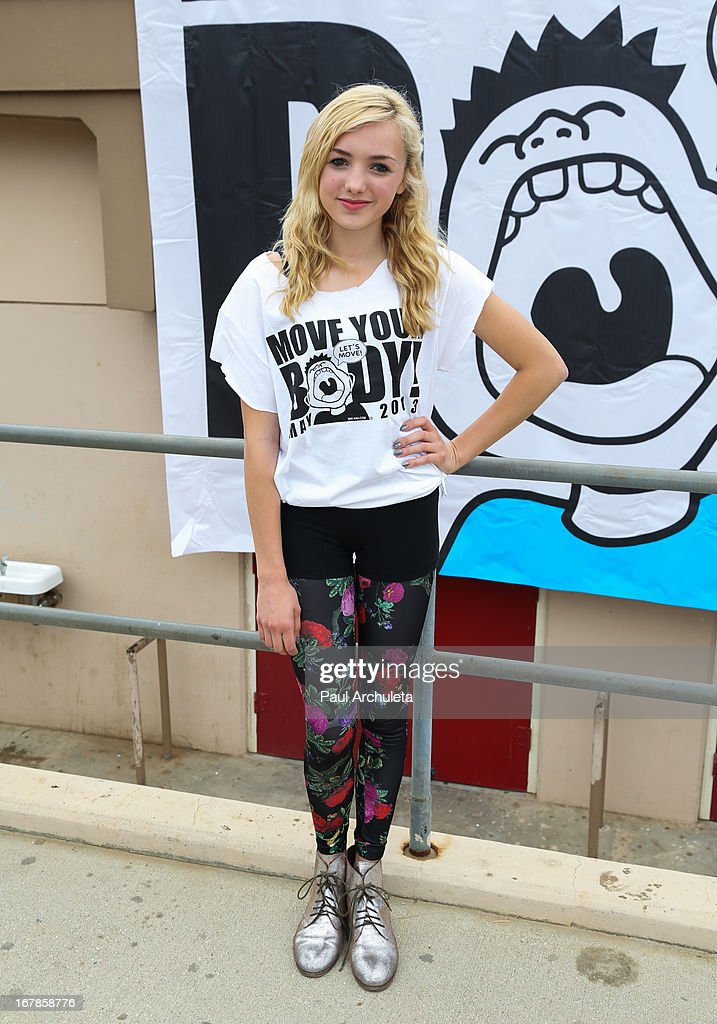 Actress Peyton List attends The WAT-AAH! Foundation's 3rd annual Move Your Body 2013 event on May 1, 2013 in Los Angeles, California.