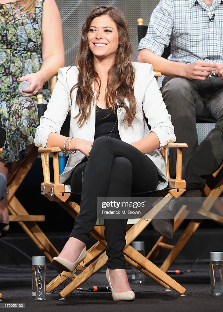 Actress Peyton List speaks onstage during 'The Tomorrow People' panel discussion at the CBS, Showtime and The CW portion of the 2013 Summer Television Critics Association tour at the Beverly Hilton Hotel on July 30, 2013 in Beverly Hills, California.