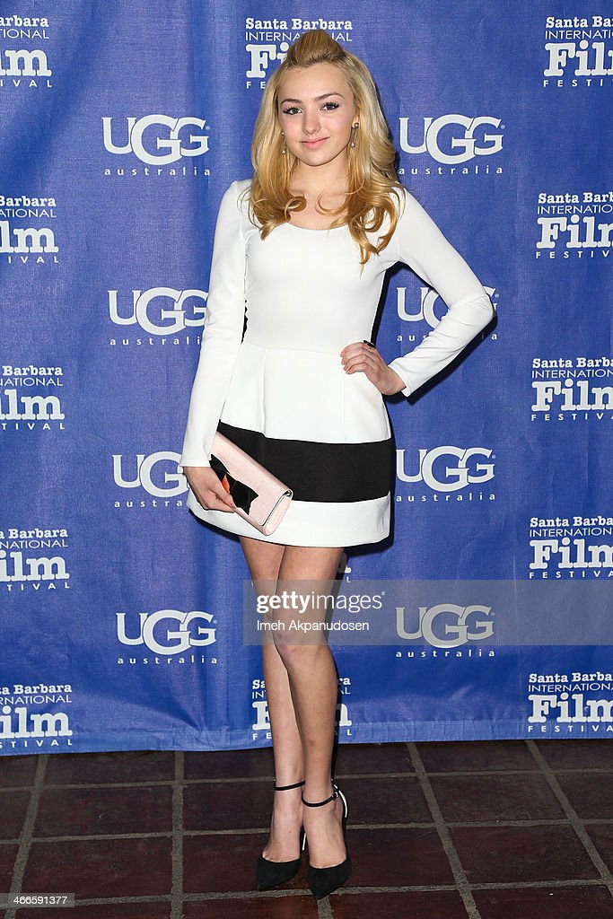 Actress Peyton R. List attends the presentation of the Outstanding Performer Of The Year Award at the Arlington Theatre during the 29th Santa Barbara International Film Festival on February 1, 2014 in Santa Barbara, California.