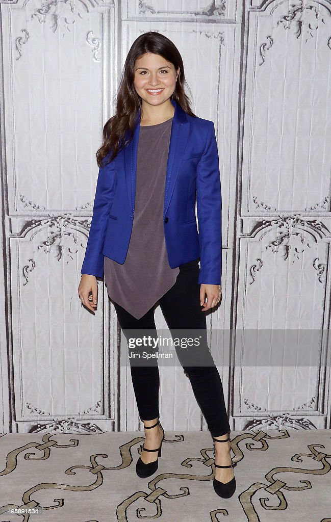 Actress Phillipa Soo attends the AOL BUILD Series to discuss her role in Broadway's 'Hamilton' at AOL Studios In New York on November 5, 2015 in New York City.