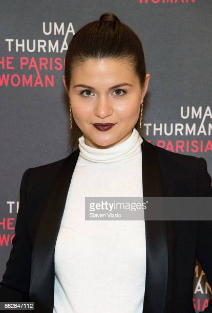 Actress Phillipa Soo attends 'The Parisian Woman' Press Meet Greet at The New 42nd Street Studios on October 18 2017 in New York City