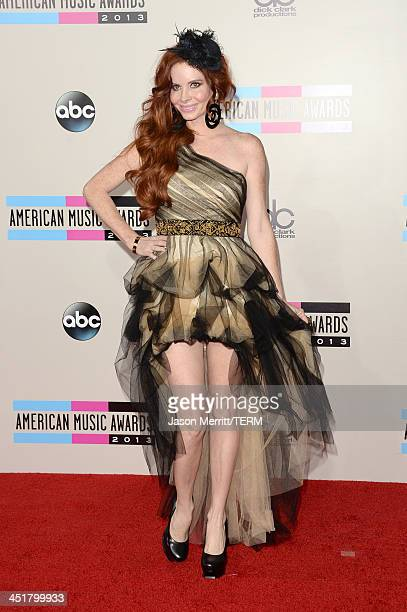 Actress Phoebe Price attends the 2013 American Music Awards at Nokia Theatre LA Live on November 24 2013 in Los Angeles California