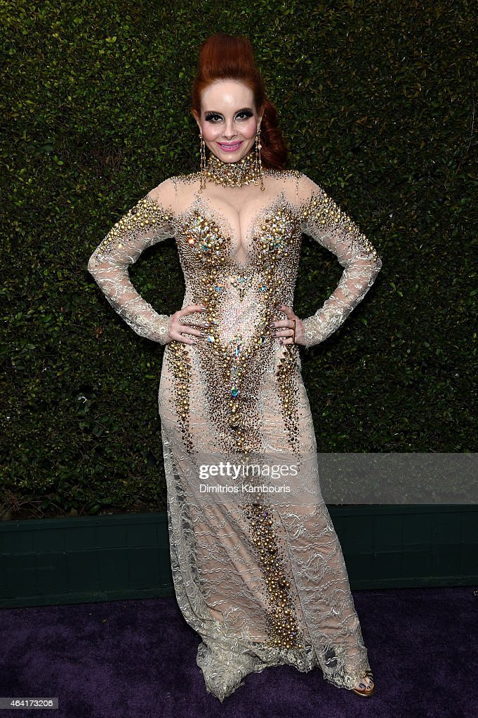 Actress Phoebe Price attends the 23rd Annual Elton John AIDS Foundation Academy Awards Viewing Party on February 22, 2015 in Los Angeles, California.