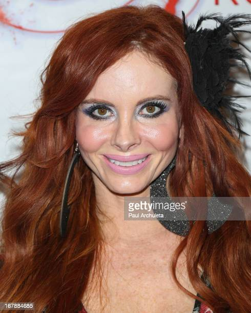 Actress Phoebe Price attends the Los Angeles premiere of 'Aroused' at the Landmark Theater on May 1 2013 in Los Angeles California