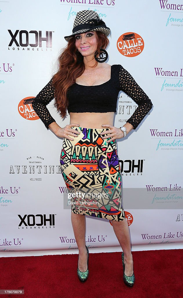 Actress <a gi-track='captionPersonalityLinkClicked' href=/galleries/search?phrase=Phoebe+Price&family=editorial&specificpeople=201530 ng-click='$event.stopPropagation()'>Phoebe Price</a> attends the One Girl At A Time fundraiser at Aventine Hollywood on July 30, 2013 in Hollywood, California.