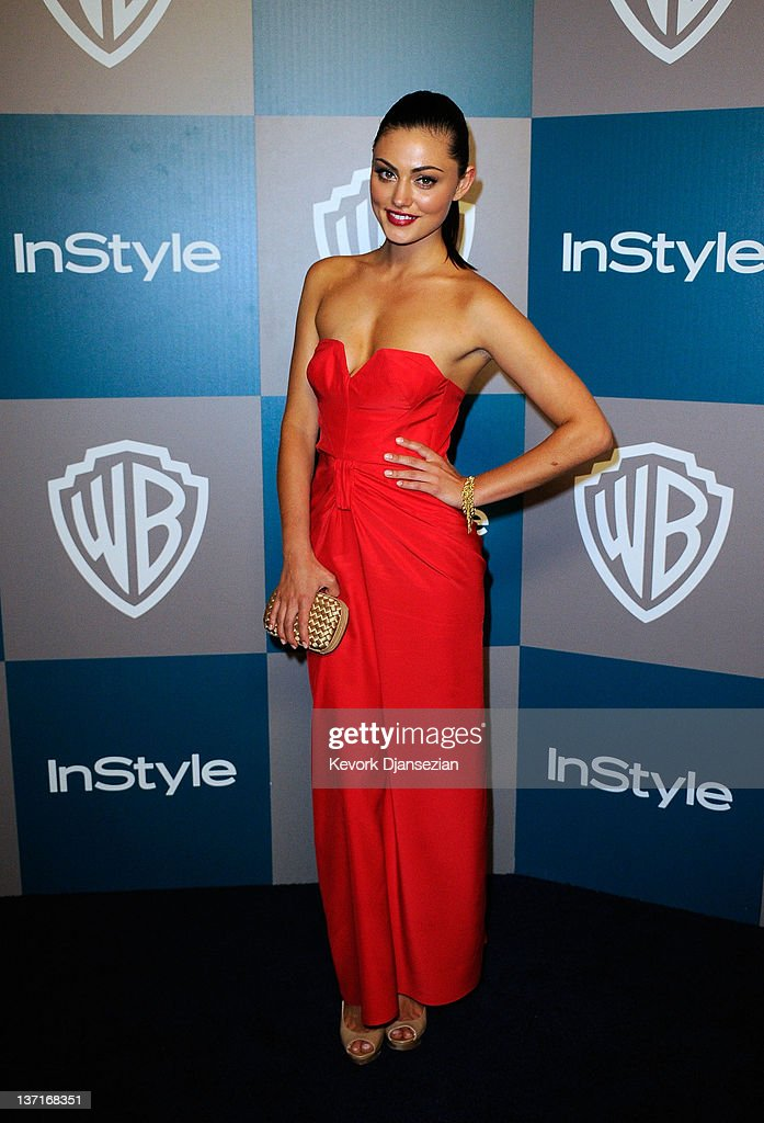 Actress Phoebe Tonkin arrives at 13th Annual Warner Bros. And InStyle Golden Globe Awards After Party at The Beverly Hilton hotel on January 15, 2012 in Beverly Hills, California.