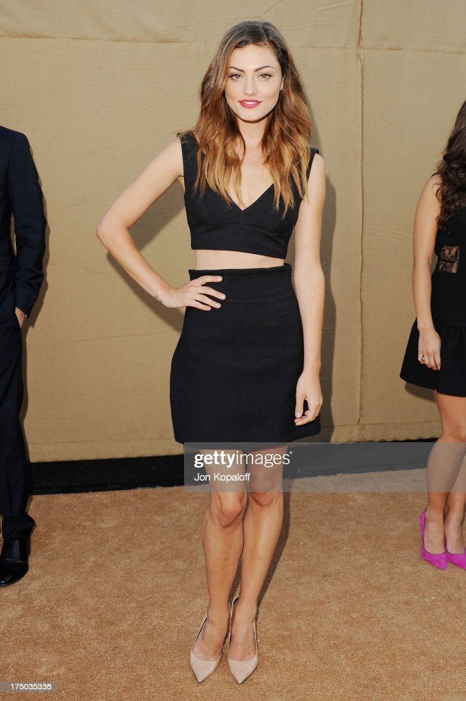 Actress Phoebe Tonkin arrives at the 2013 Television Critic Association's Summer Press Tour - CBS, The CW, Showtime Party at The Beverly Hilton Hotel on July 29, 2013 in Beverly Hills, California.