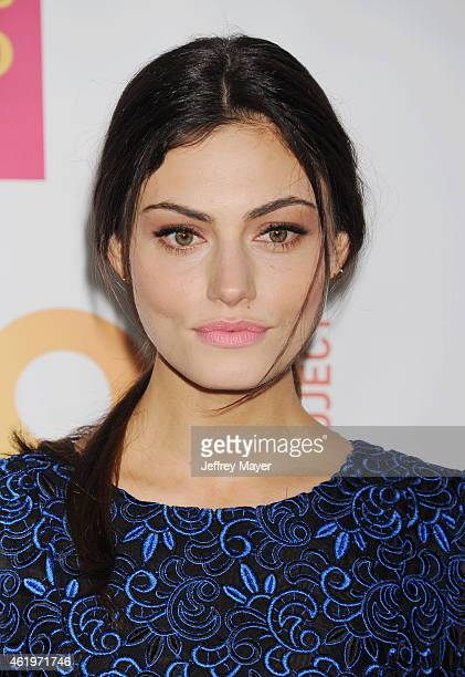 Actress Phoebe Tonkin arrives at TrevorLIVE Los Angeles at Hollywood Palladium on December 7 2014 in Los Angeles California
