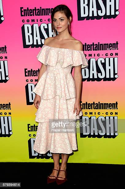 Actress Phoebe Tonkin attends Entertainment Weekly's ComicCon Bash held at Float Hard Rock Hotel San Diego on July 23 2016 in San Diego California...