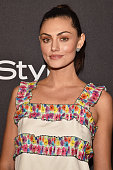 Actress Phoebe Tonkin attends InStyle and Warner Bros 73rd Annual Golden Globe Awards PostParty at The Beverly Hilton Hotel on January 10 2016 in...