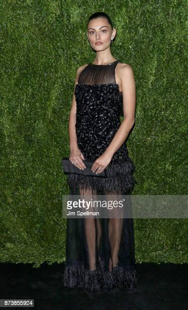 Actress Phoebe Tonkin attends the 2017 Museum of Modern Art Film Benefit Tribute to Julianne Moore at Museum of Modern Art on November 13 2017 in New...