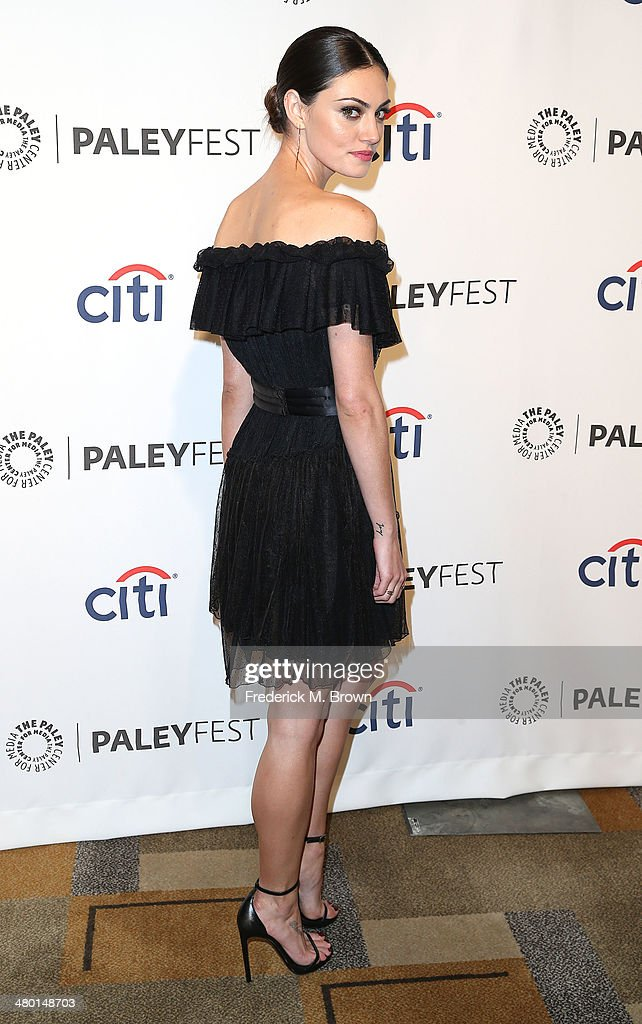 Actress <a gi-track='captionPersonalityLinkClicked' href=/galleries/search?phrase=Phoebe+Tonkin&family=editorial&specificpeople=5338240 ng-click='$event.stopPropagation()'>Phoebe Tonkin</a> attends The Paley Center for Media's PaleyFest 2014 Honoring 'The Vampire Diaries' and 'The Originals' at the Dolby Theatre on March 22, 2014 in Hollywood, California.