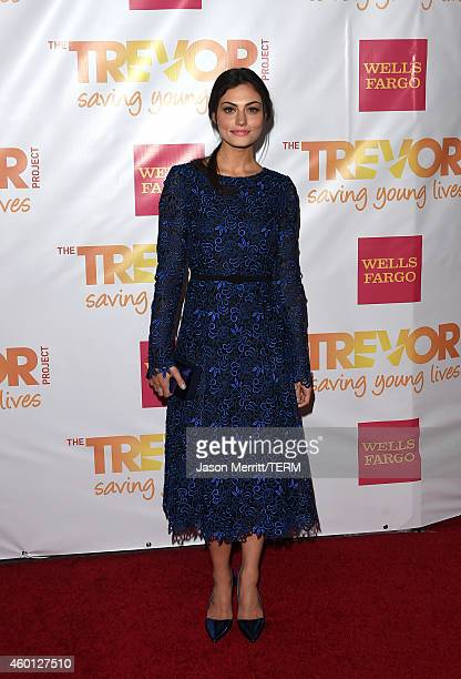 Actress Phoebe Tonkin attends 'TrevorLIVE LA' Honoring Robert Greenblatt Yahoo and Skylar Kergil for The Trevor Project at Hollywood Palladium on...