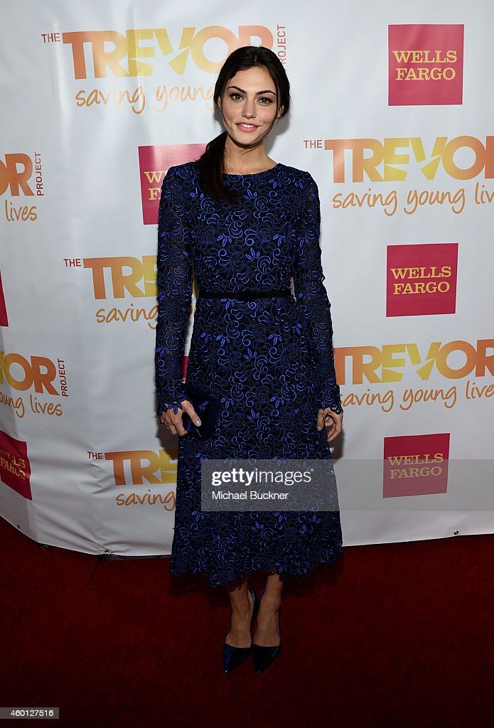Actress Phoebe Tonkin attends 'TrevorLIVE LA' Honoring Robert Greenblatt Yahoo and Skylar Kergil for The Trevor Project at Hollywood Palladium on...