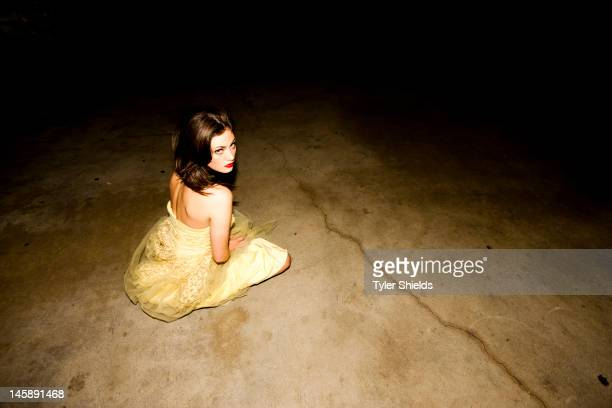Actress Phoebe Tonkin is photographed for Self Assignment on May 4 2012 in Los Angeles California