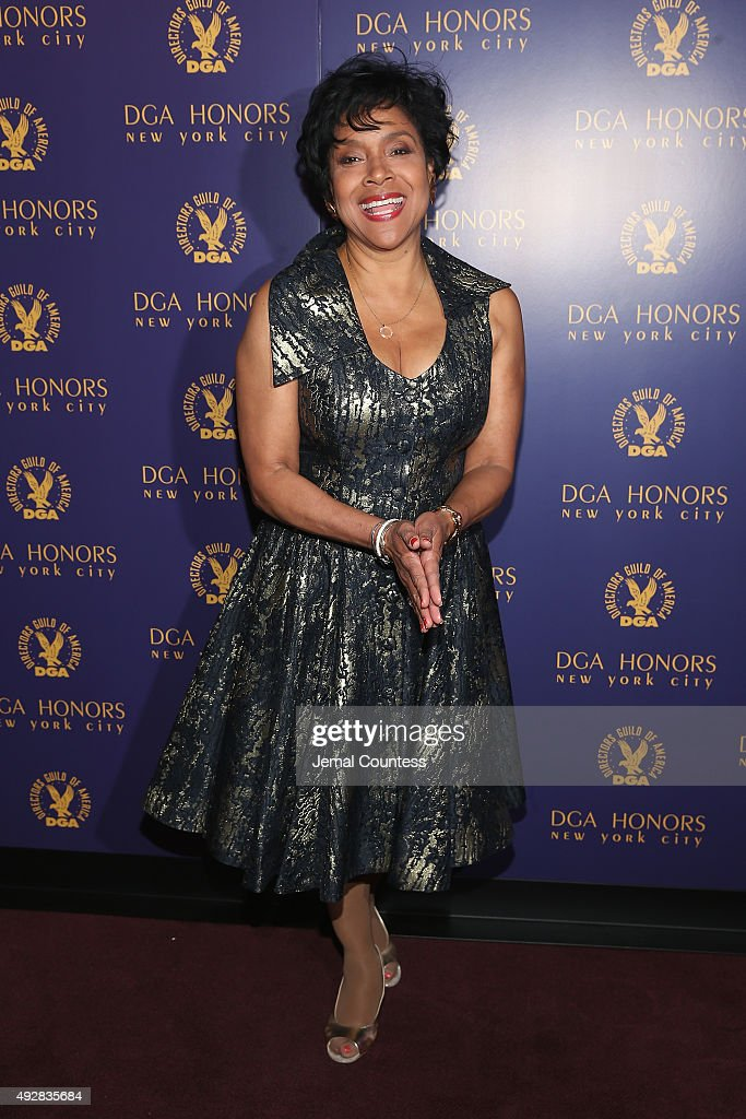Actress Phylicia Rasha attends the DGA Honors 2015 Gala on October 15, 2015 in New York City.
