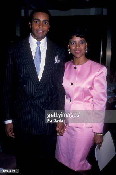 Actress Phylicia Rashad and Ahmad Rashad attending 16th Annual International Emmy Awards on November 21 1988 at the Sheraton Center in New York City...